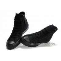 Black CONVERSE All Star Monochromatic Canvas Sneakers For Sale BrhEX