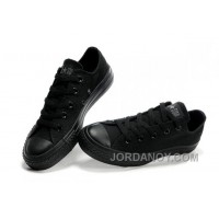 Black CONVERSE All Star Monochromatic Canvas Sneakers Free Shipping CxBCx2