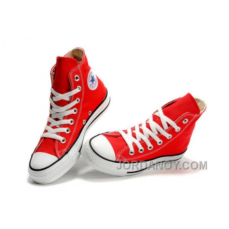 895563893365 Red CONVERSE Chuck Taylor All Star Canvas Sneakers Discount As3Th ...