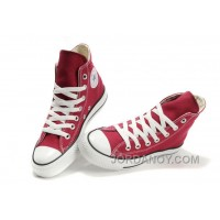 CONVERSE Chuck Taylor All Star Maroon Canvas Shoes Cheap To Buy XJdfXNx
