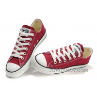 CONVERSE Chuck Taylor All Star Maroon Canvas Shoes Free Shipping 7w7r2Rf