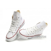 CONVERSE High Top Chuck Taylor All Star Optical White Canvas Shoes Authentic CAtiT