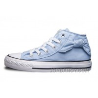 CONVERSE Hello Kitty Bow Tie Side Blue Chuck Taylor All Star Lastest XjQhT6