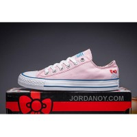Pink Hello Kitty X CONVERSE Chuck Taylor All Star Cheap To Buy SNAebw