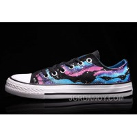 CONVERSE Iridescent Galaxy Multi Colored Women Chuck Taylor All Star Shoes For Sale WN8Yep