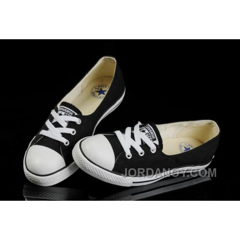 e68f04c8f272 USD  59.00  206.50. For Sale Black CONVERSE Ballet Flats Dainty Ballerina  Chuck Taylor All Star Summer Traning Shoes ...