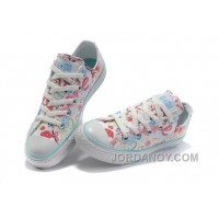 White CONVERSE Chuck Taylor All Star True Love Graffiti Canvas Shoes Discount 3XnMSzM