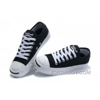 Black CONVERSE Jack Purcell Canvas Shoes Free Shipping ERxT3