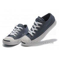 Blue CONVERSE Jack Purcell Vintage Washed Canvas Shoes Cheap To Buy NDki6