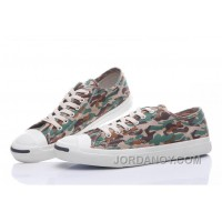 CONVERSE Jack Purcell Profile Camo Slip Army Green Canvas Low Super Deals PPPSdxS