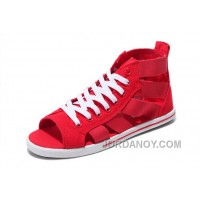 Red CONVERSE Open Toe Elastic Band Summer All Star Roman Sandals Free Shipping WyFHz