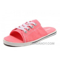 Pink All Star Light CONVERSE Slippers Summer Collection By Avril Lavigne Canvas Super Deals YWKDQ
