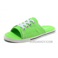 Green CONVERSE Slippers All Star Light Summer Collection By Avril Lavigne Canvas Christmas Deals YFkXfwz