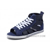 Blue All Star CONVERSE Open E Gore Roman Sandals Summer Elastic Band Cheap To Buy 6e4TA