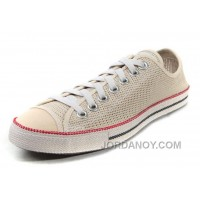 Beige CONVERSE All Star Summer Collection Chuckout Mesh Style Tops Casual Shoes Discount Bzka7bp