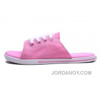 Pink CONVERSE Cutaway EVO Summer Chuck Taylor All Star Women Slippers Christmas Deals T7f7Qr