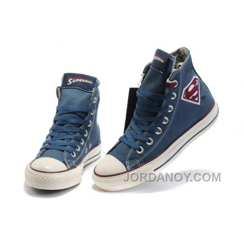 452d4c24050f USD  59.00  177.00. Blue CONVERSE Superman Chuck Taylor All Star Canvas  Shoes ...