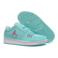 Discount Girls Air Jordan 1 Low Aquamarine Pink Shoes For Sale