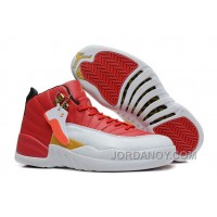Super Deals Girls Air Jordan 12 Cherry Red White For Sale