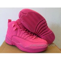 For Sale Girls Air Jordan 12 GS All Pink 2016