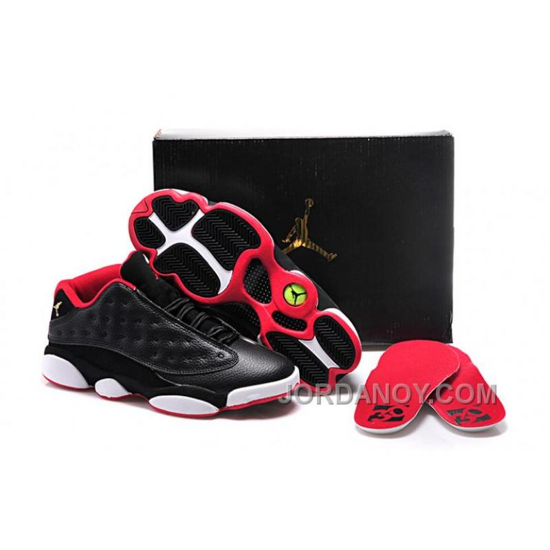 "cheap for discount 802a7 a2170 For Sale Girls Air Jordan 13 Retro Low GS ""Bred"""