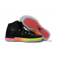 2017 Air Jordan XXX1 GS Rainbow Black Pink Volt Online