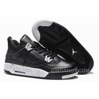 "Free Shipping Girls Air Jordan 4 Retro ""Oreo"" For Sale Online"
