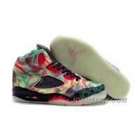 Discount Girls Air Jordan 5 Maple Leaf Champion Shoes For Sale