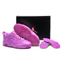 Hot Now Girls Air Jordan 6 All Purple Violet For Sale