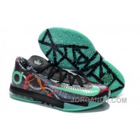 "Cheap To Buy Girls Nike KD 6 ""Illusion All Star"" Multi-Color/Green Glow-Black For Sale"