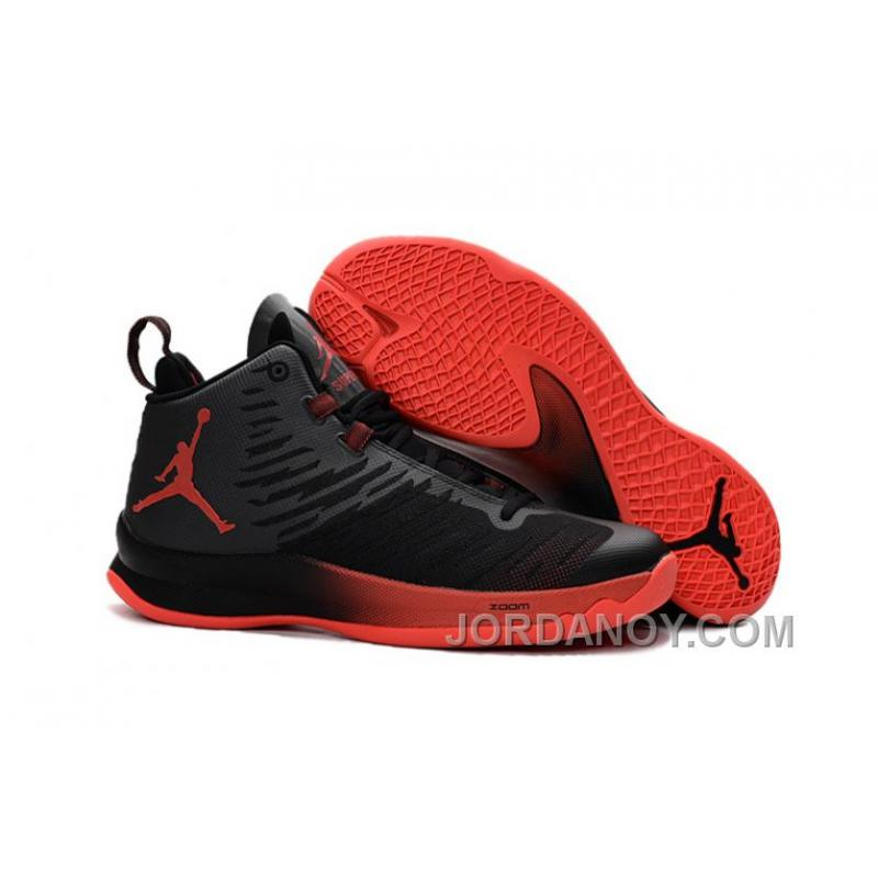 New Jordan SuperFly 5 Black Infrared 23 Authentic