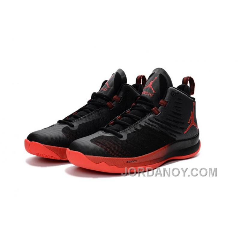 ... New Jordan Super.Fly 5 Black/Infrared 23/Infrared 23 Authentic ...
