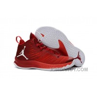 New Jordan Super.Fly 5 Gym Red/Infrared 23/White Lastest