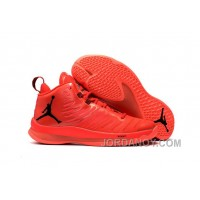 New Jordan Super.Fly 5 X Red/Black Cheap To Buy