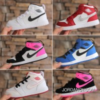 Air Jordan 1 Jordan One AJ1 Kids Shoes 2017 Winter 2018 Discount