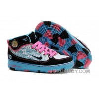 Kids Air Jordan Force 1 Camouflage Skyblue Pink Discount