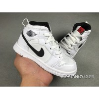 Nike Air Jordan Retro 1 White Black For Sale