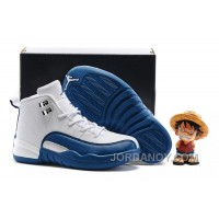 "Super Deals Kids Air Jordan 12 ""French Blue"" 2016 For Sale"