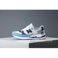 New Balance 530SD White Blue Pig Leather Women/men 2017 New Best