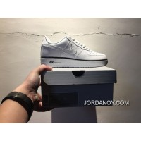 Perfect Quality Nike Af1 Classic Five Star To Be White And Black Men Shoes 488288-160 2018 Copuon Code