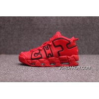 2018 Authentic Nike Air Channels More Uptempo Be Pippen Big Air | Jordan 3 Red Black | 138-600