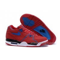 Nike Air Flight '89 University Red/Game Royal Sports Basketball Shoes For Sale Super Deals