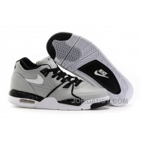Nike Air Flight '89 Wolf Grey/Black-White Shoes For Sale Cheap To Buy