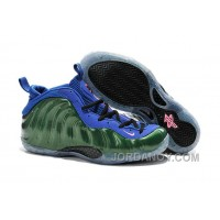 Top Deals Nike Air Foamposite One Green Blue For Sale
