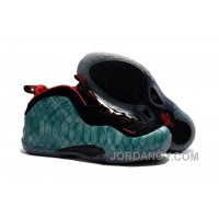 """Free Shipping 2016 Nike Air Foamposite One """"Gone Fishing"""" Dark Emerald/Challenge Red-Black"""