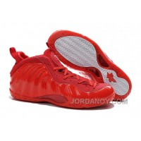 Nike Air Foamposite One All Red For Sale Free Shipping