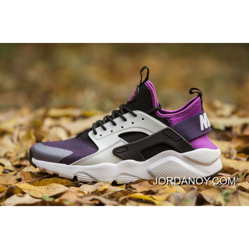 25ba50311c05 Nike Huarache 4 Air Run Ultra White Purple 2018 New Release ...