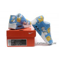 Nike AIR MAX 90 KID Hyperfuse White Blue Online