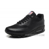 NIKE Air Max 90 Hyperfuse American Flag Black 36-46 Cheap To Buy