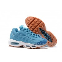 Nike Air Max 95 2017 Spring New Blue Women Cheap To Buy